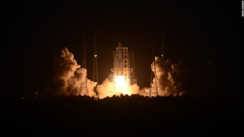 الصين: فشل إطلاق صاروخ ضمن خطة لاكتشاف الفضاء