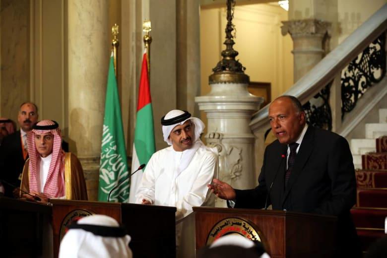 وزير الخارجية المصري: الرد القطري كان فيه الكثير من اللغط والكلام الفارغ