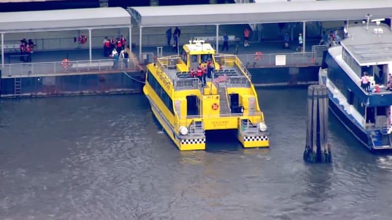 إصابة 30 راكبا بجروح إثر اصطدام تاكسي مائي في رصيف