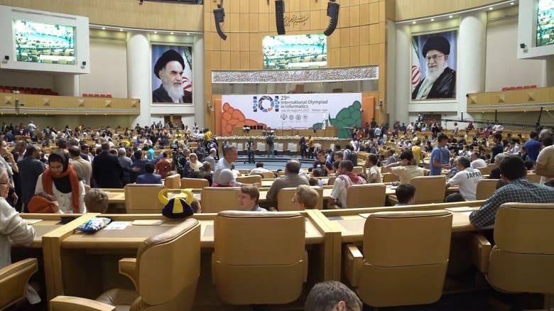 إيران تستضيف أولمبياد المعلوماتية.. وصيني يمثل أمريكا!