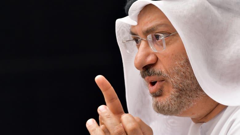 """قرقاش يبين """"المنطقي"""" وأساسيات خروج قطر من أزمتها"""