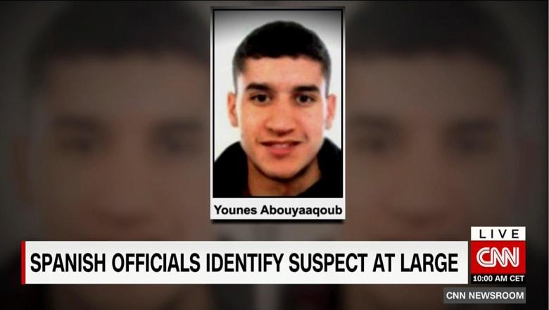 الشرطة الكتالونية تكشف أسماء 3 إرهابيين وتبحث عن يونس أبويعقوب