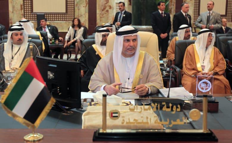 قرقاش: الإمارات تدرك قوة دورها ضمن فريق تقوده السعودية ومصر