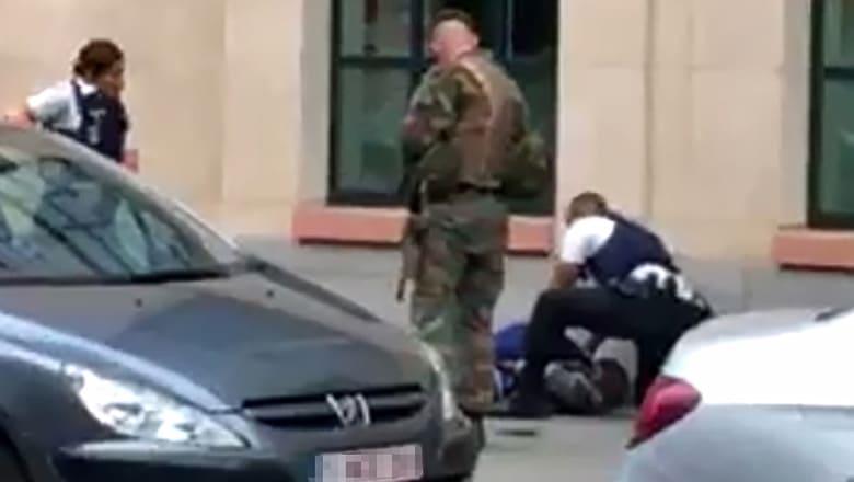 ببيان منسوب.. داعش يتبنى مسؤولية هجوم الطعن في بروكسل