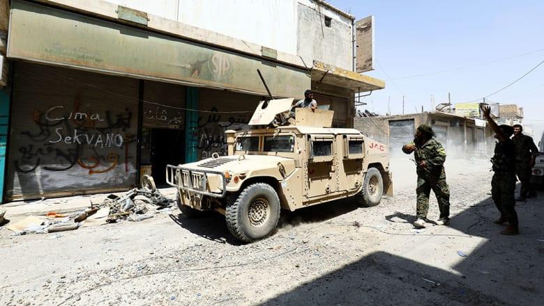 """تحالف """"قوات سوريا الديمقراطية"""" يعلن تحرير الرقة القديمة من قبضة """"داعش"""""""