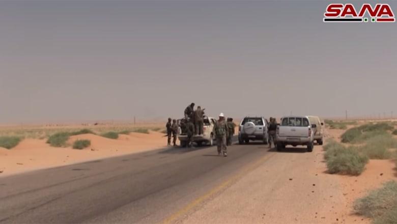 دمشق تنشر فيديو لمحاولات فك حصار داعش لدير الزور