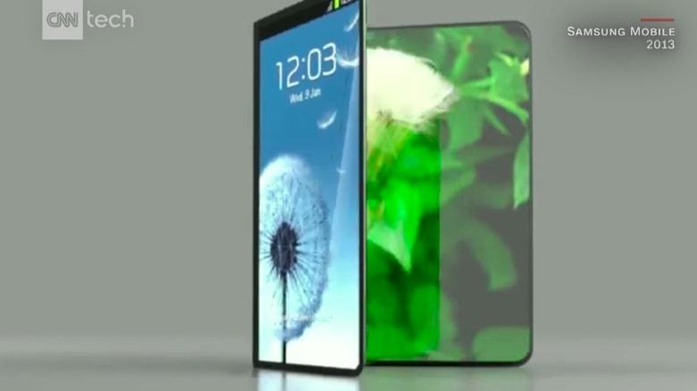 كيف سيبدو هاتف سامسونغ الذكي القابل للطي؟