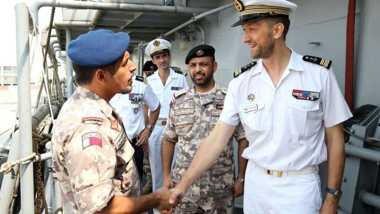 قطر: مناورات بحرية عسكرية مع فرنسا ضمن جهود مكافحة الإرهاب
