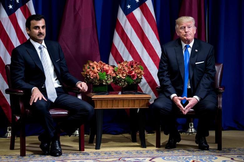 """وزير سعودي: طلب أمير قطر المساعدة من ترامب دليل على عدم قدرته على """"تحمل مقاطعة الكبار"""""""