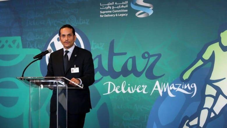 وزير خارجية قطر: كأس العالم يحفزنا ويمنحنا فرصة للتغيير الإيجابي