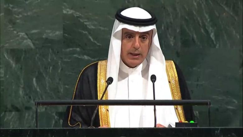 الجبير: سياسات قطر تنشر الفوضى وتثير الفتن.. ويجب التوصل إلى حل سياسي في اليمن