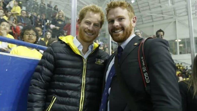 هل هناك تشابه بين مصور رئيس وزراء كندا والأمير هاري؟