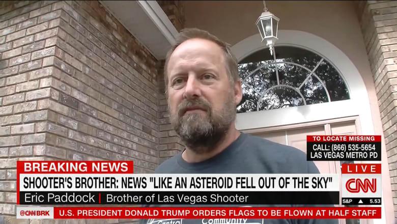شخص يزعم أنه شقيق مطلق النار في لاس فيغاس لـCNN: وكأن مذنبا سقط علينا من السماء