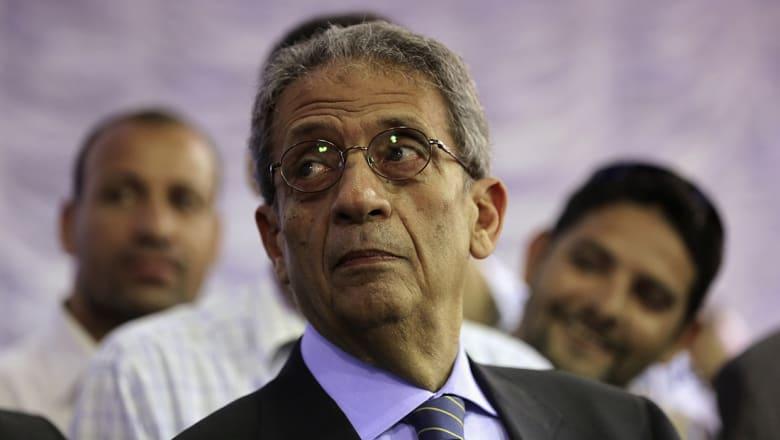 """عمرو موسى يحذر من """"عكوسات سياسية"""" ستنشط لإفساد المصالحة الفلسطينية"""
