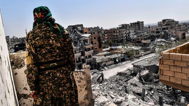 التحالف الدولي لـCNN: تحرير 85% من الرقة بسوريا