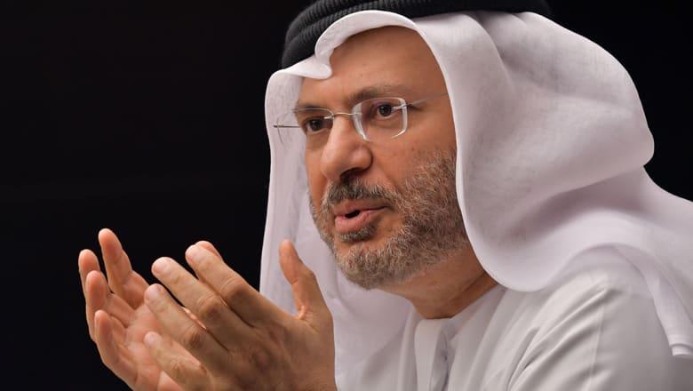قرقاش: ننتظر المواقف الواضحة تجاه إيران مثل الرياض وأبوظبي والمنامة