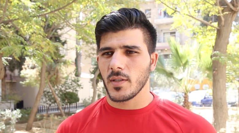 إبراهيم عالمة لـCNN: المنتخب السوري وحد الشعب وطموحنا أصبح أكبر