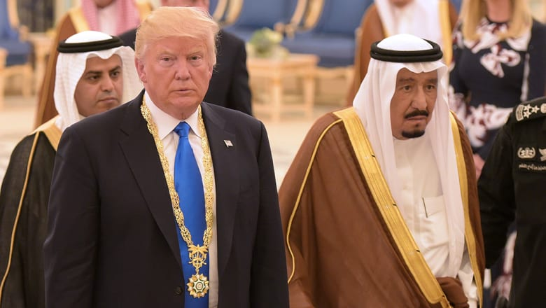 الملك سلمان لترامب: نرحب بالاستراتيجية الحازمة تجاه إيران