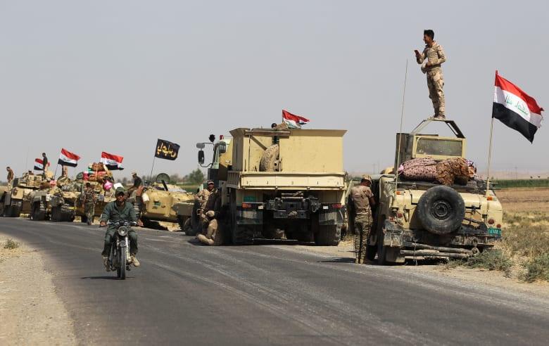 التوتر يتصاعد مع تقدم القوات العراقية باتجاه مدينة كركوك