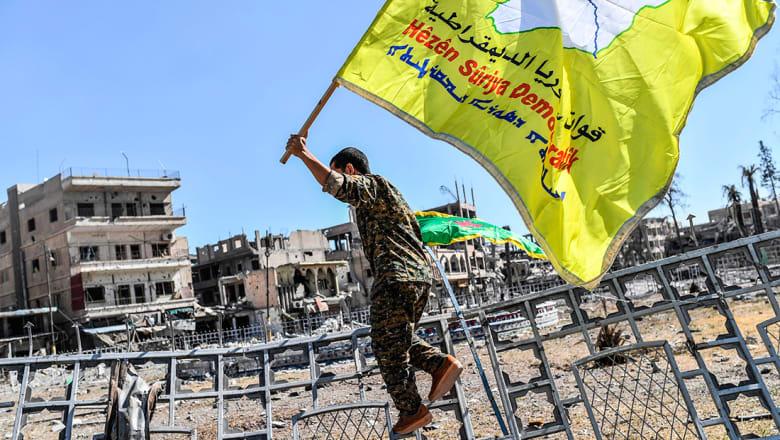 قوات سوريا الديمقراطية لـCNN: عملية الرقة انتهت وهي تحت السيطرة