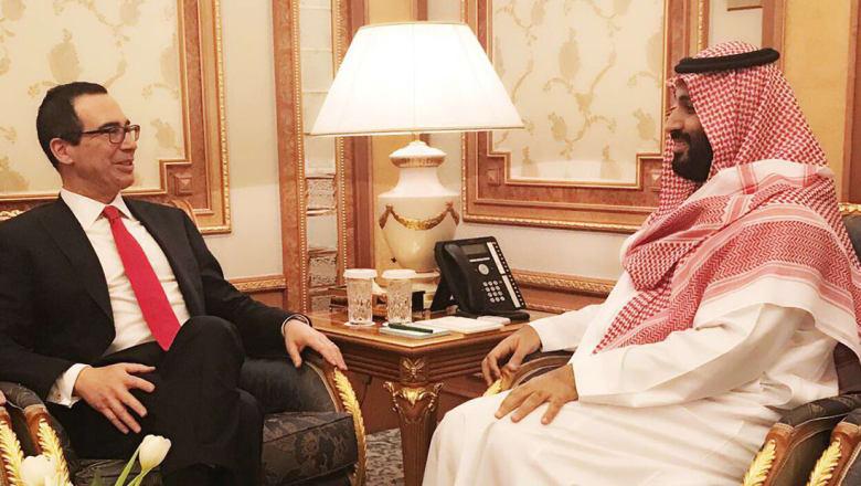 وزير الخزانة الأمريكي يتوعد إيران وحزب الله.. ويعلن عن عقوبات ضد يمنيين