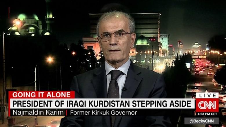 محافظ كركوك المُقال لـCNN: تصرف بارزاني طبيعي.. وحلم دولة كردستان ما زال حياً