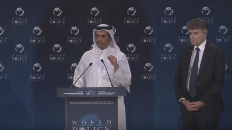 وزير خارجية قطر لسفير إسرائيلي سابق: لم ندعم حماس أبدا بل شعب غزة