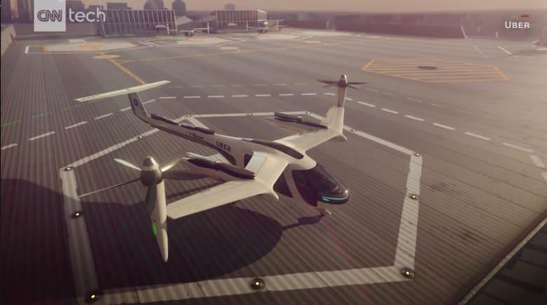 """""""أوبر"""" تتعاون مع """"ناسا"""" لمركبات الأجرة الجوية"""