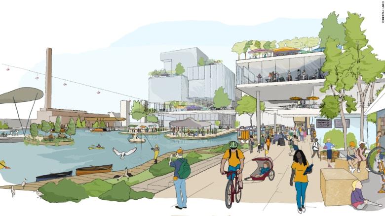غوغل تخطط لبناء حي من المستقبل في كندا