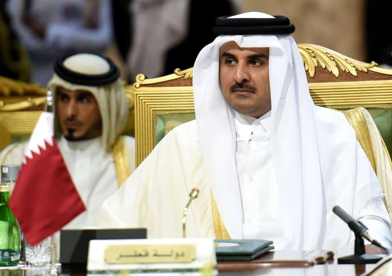 أمير قطر: خطط تستهدف الريال والمونديال.. ونعمل طال الحصار أم قصر
