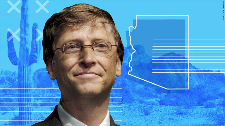 بيل غيتس يستثمر 80 مليون دولار لبناء مدينة ذكية