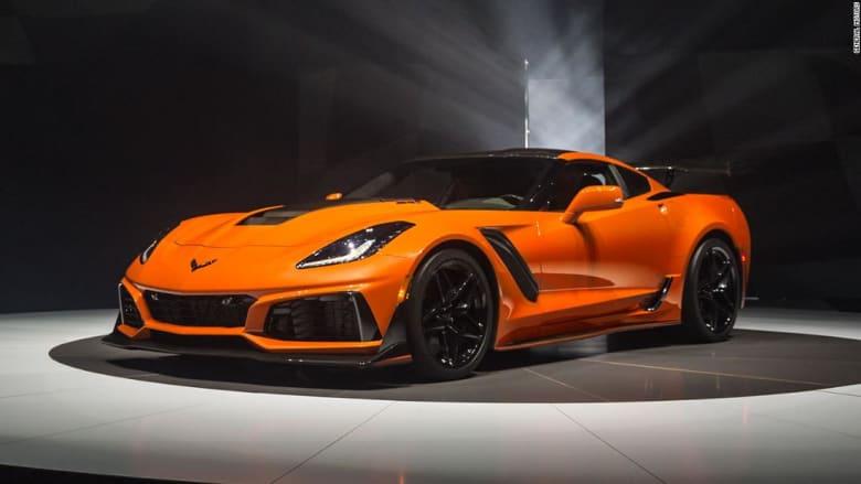 """إليكم """"ZR1"""".. أسرع سيارة """"كورفيت"""" في العالم"""