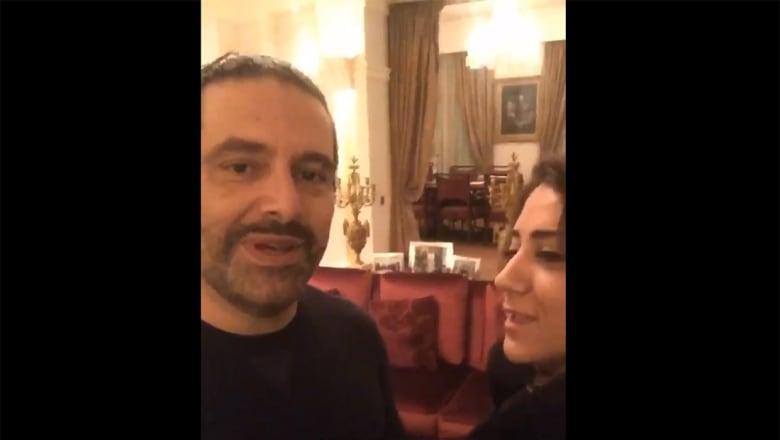 بالفيديو.. الحريري لإعلامية لبنانية من باريس: كنت دائماحرا