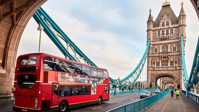 وقود جديد يشغّل حافلات لندن.. القهوة!