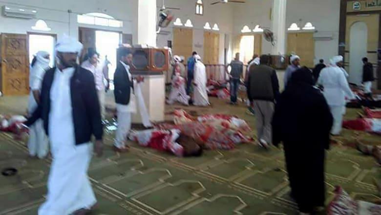 النائب العام المصري: 235 قتيلا في هجوم مسجد الروضة