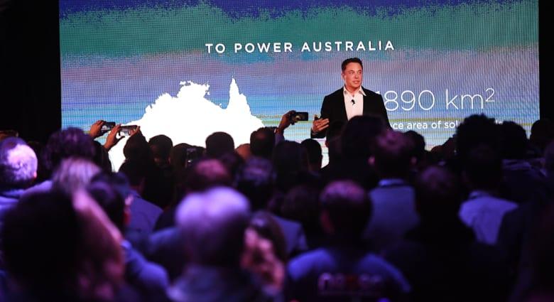 تسلا تقدم أكبر بطارية في العالم بأستراليا