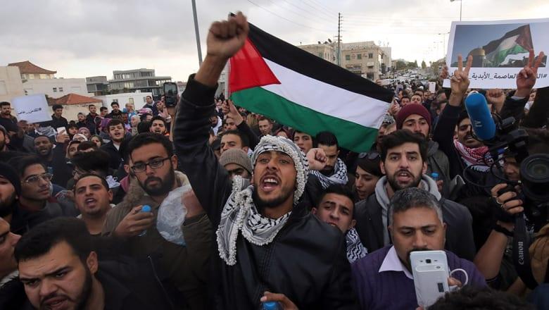 مسيرات تجتاح المدن الأردنية ضد قرار ترامب والحكومة تدعو للتظاهر