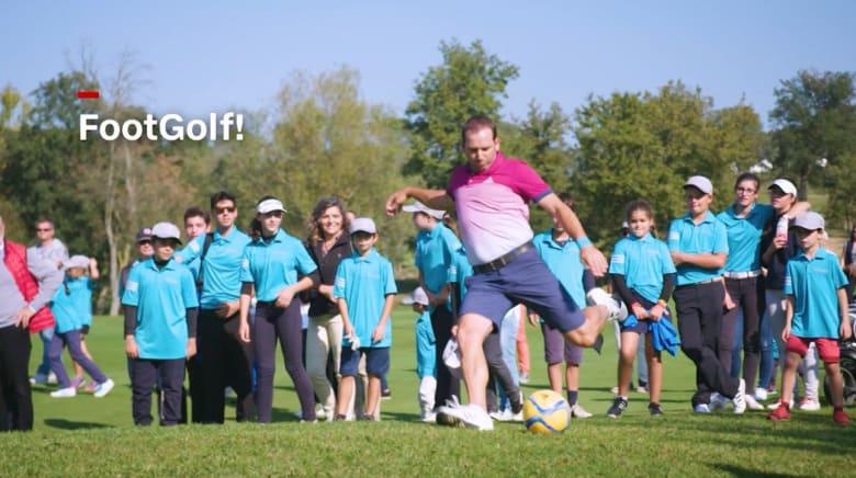 الغولف بالقدم.. رياضة تدمج بين الغولف وكرة القدم