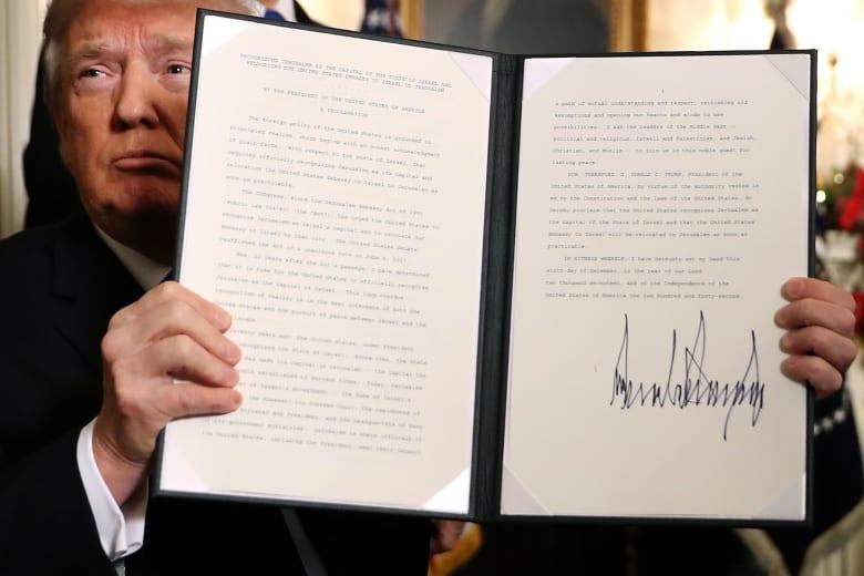 عباس: أمريكا منحتنا صفعة لا صفقة والقدس عاصمة أبدية لفلسطين