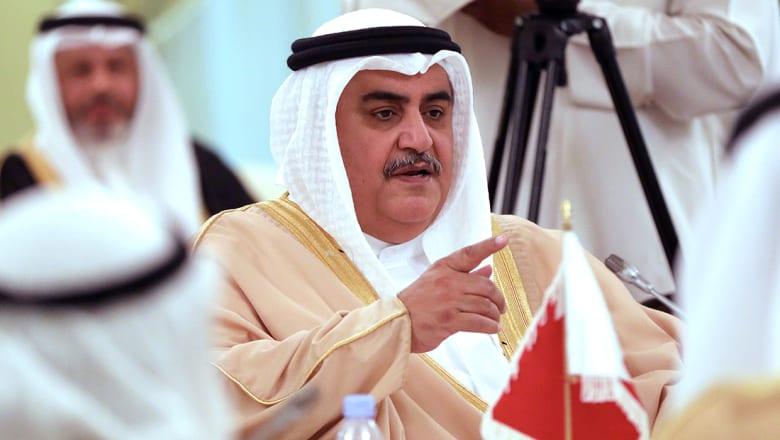 وزير خارجية البحرين: فلتضرب الجمهورية الإسلامية رأسها بالحيطان وتشرب مياه البحر