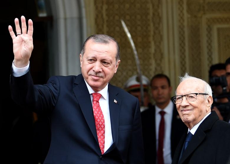 أردوغان من تونس: عيّنا قنصلاً عاماً بدور السفير في القدس الشرقية