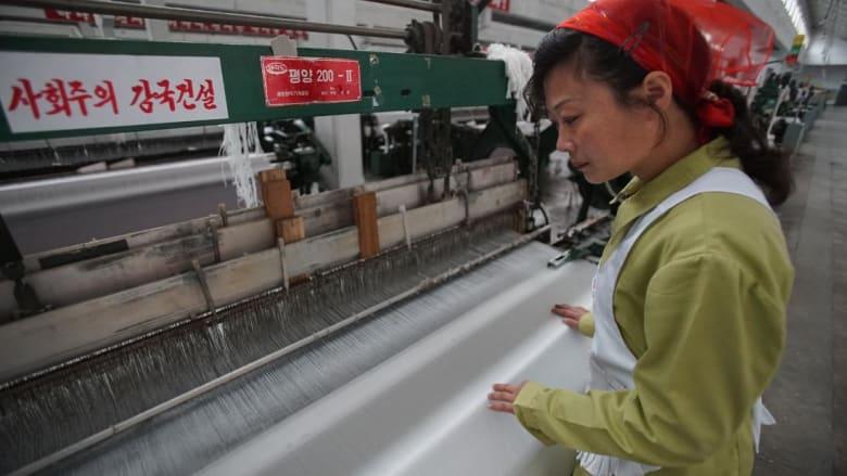 جولة سريعة داخل أكبر مصانع النسيج في كوريا الشمالية