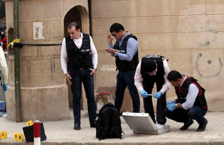 الداخلية المصرية: 9 قتلى في هجوم حلوان وإحباط تفجير كنيسة مارمينا