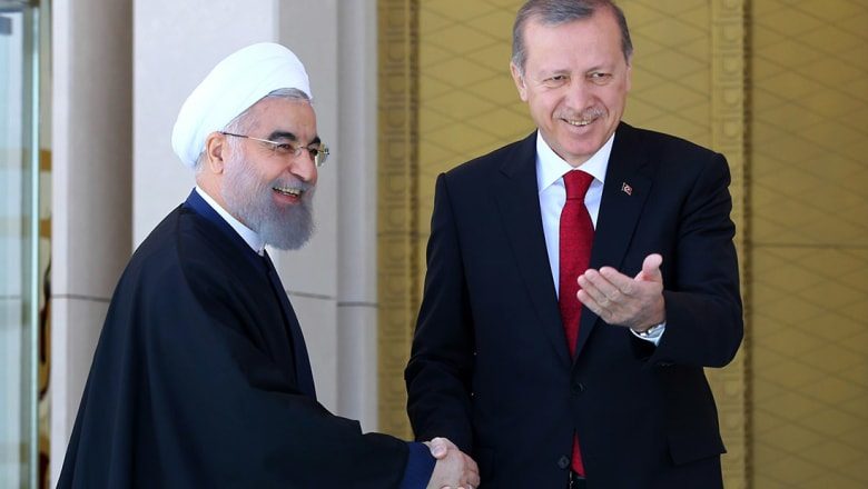 """أردوغان يدعم """"استقرار"""" إيران.. ووزير خارجيته: ترامب ونتنياهو هما من يؤيد الاحتجاجات"""