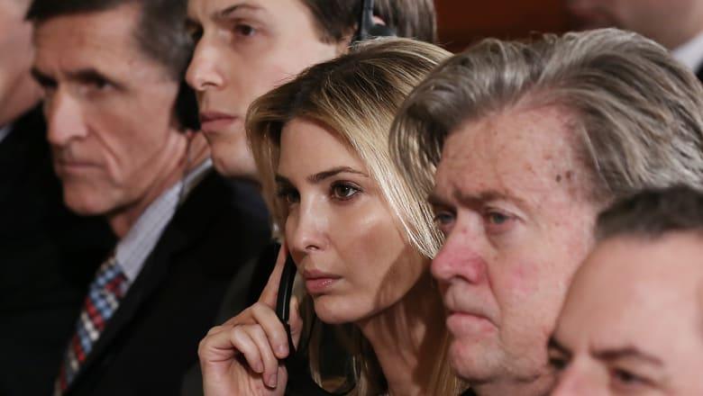 """كتاب """"النار والغضب"""" داخل بيت ترامب الأبيض: خطة لإعداد ايفانكا للرئاسة"""