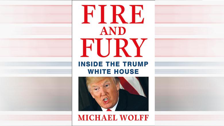 """ترامب عن """"النار والغضب"""" ومؤلفه: مزيف ولم أتحدث معه حول الكتاب أبدا"""