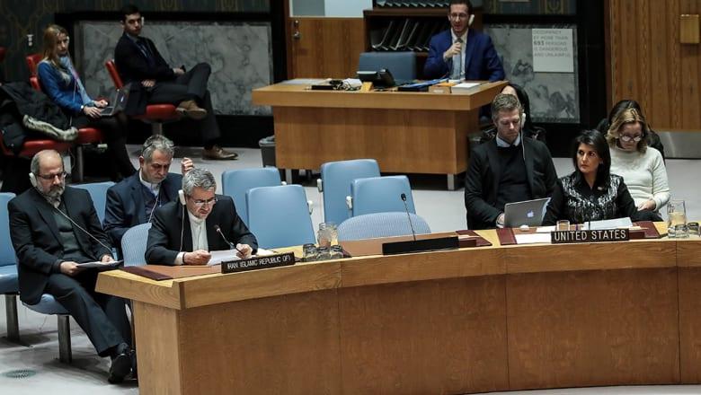 ظريف عن جلسة مجلس الأمن حول مظاهرات إيران: فشل آخر لأمريكا