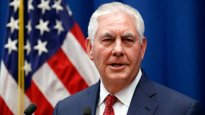 تيلرسون لـCNN: ندعم طموحات الشعب الإيراني في إجراء انتقال سلمي للسلطة