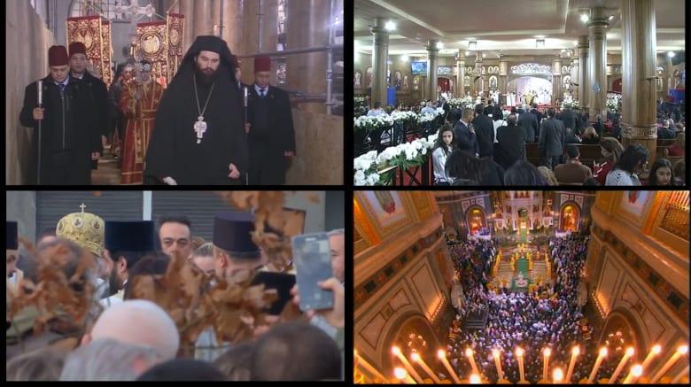 بوتين والسيسي وعباس يحضرون قداس عيد الميلاد الأورثوذكسي
