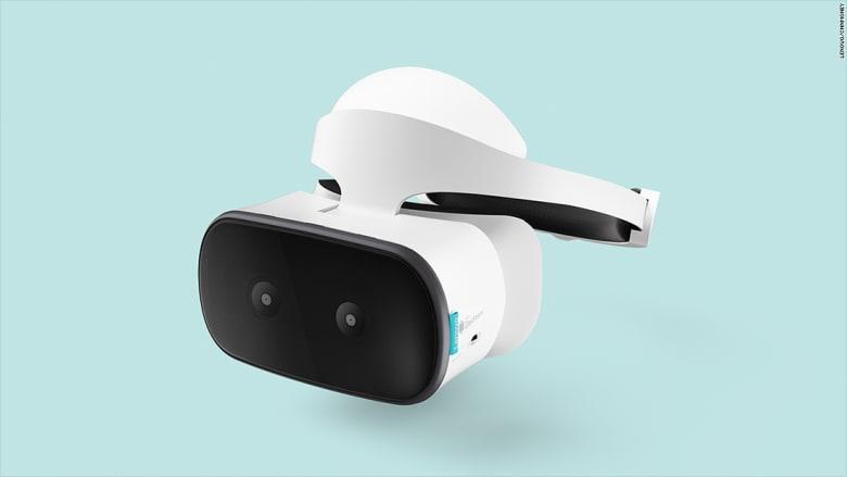 """هذه نظارة """"Lenovo Mirage Solo"""".. رهان """"غوغل"""" على الواقع الافتراضي"""
